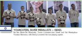 נבחרת הצעירים של ישראל סגנית אלופת העולם בברידג' – סין 2012