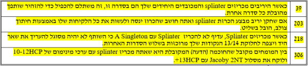 קונבנציית Splinter